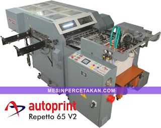 autoprint repetto 65 | mesin pond otomatis