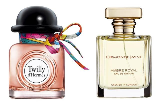 Hermes Twilly d'Hermes i Ormonde Jayne Ambre Royal - najlepsze perfumy 2017 roku