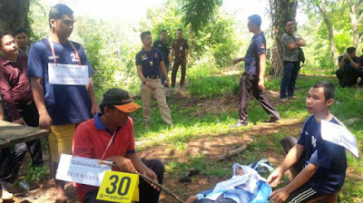 Biadab Para Pelaku Pantas Di Hukum Mati ! Setelah Setubuhi Siswi SMK 3 Pelaku Bunuh dan Tancapkan Batang Singkong Di Bagian Vital Korban