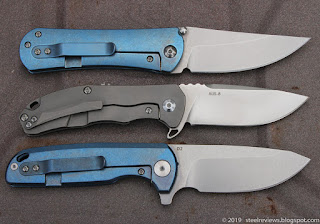 Borka style SBKF, CH Knife CH3003 and X4 flipper