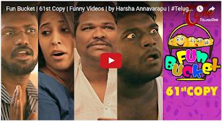 Fun Bucket  61st Copy  Funny Videos  by Harsha Annavarapu