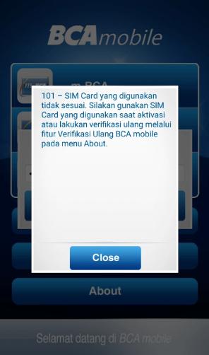 Cara Mengatasi BCA Mobile Tidak Bisa digunakan setelah Ganti Kartu SIM di HP Anda