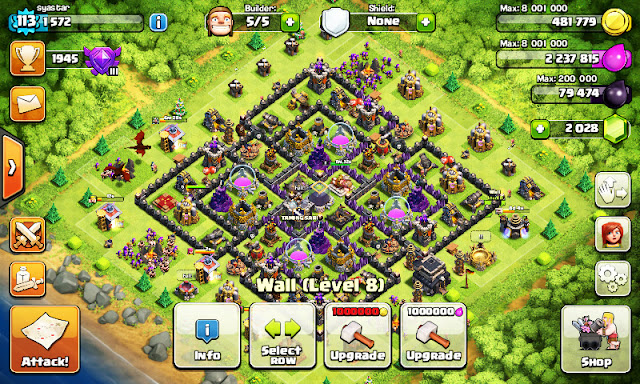 CLASH OF CLAN a.k.a COC