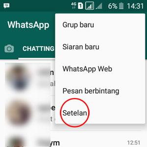 gambar whatsapp setelan
