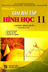 Hướng Dẫn Giải Bài Tập Hình Học 11 Chương Trình Chuẩn - Nguyễn Văn Lộc