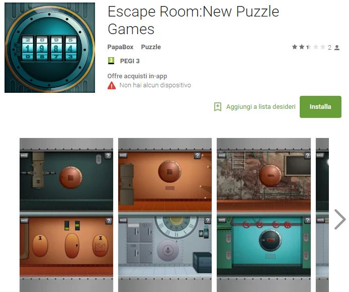 Soluzioni Escape Room New puzzle games livello 1 2 3 4 5 6 7 8 9 10 | Trucchi e Walkthrough level