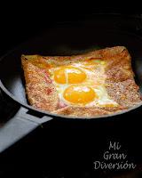 Galette Bretonne (Bacon, queso y huevo)