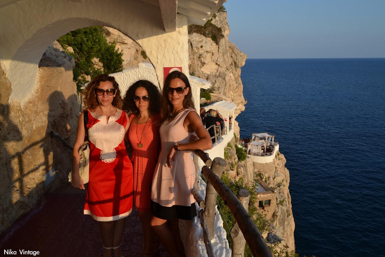 anochecer, ocaso, Atardecer, La Cova d'en Xoroi, concierto, vistas, terrazas, Menorca