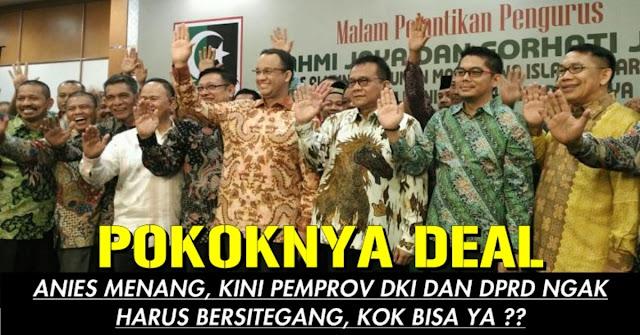 Beda Dengan Ahok, Anies Tidak Akan Bersitegang Dengan DPRD !! Kok Bisa ??