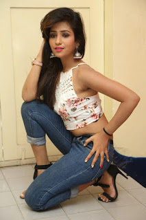 Deekshita Parvathi in a short crop top and Denim Jeans Spicy Pics Beautiful Actress Deekshita Parvathi January 2017 CelebxNext (98).JPG