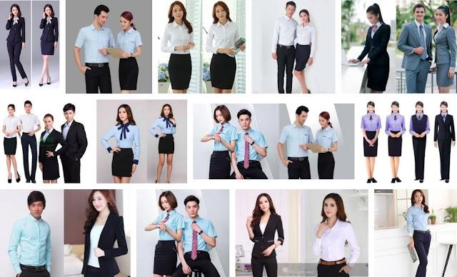 Dịch Vụ đồng phục văn phòng nữ Tại TpHCM và Hà Nội