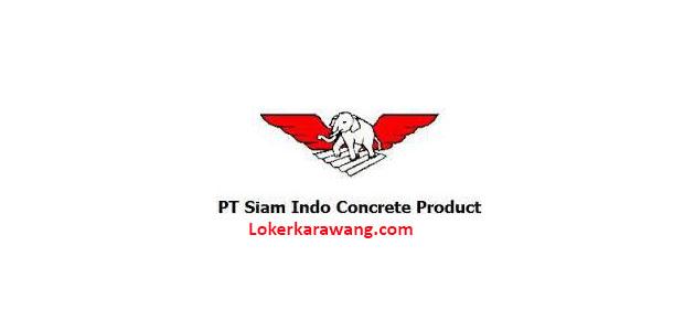 Lowongan Kerja PT. Siam-Indo Concrete Products (PT. SICP)