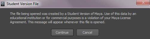 SRB Blog: Removal of Student Version File Pop-UP Dialog Box