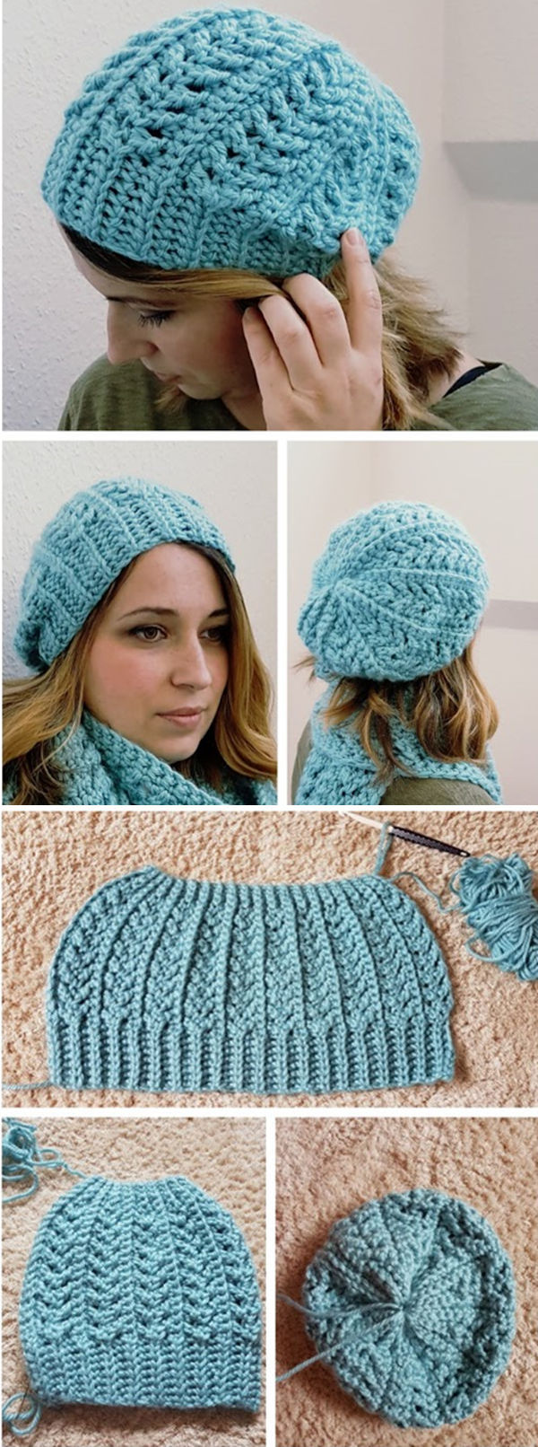 Go with the Flow Hat - Free Crochet Pattern