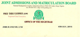 Guidelines for admissions in Nigeria