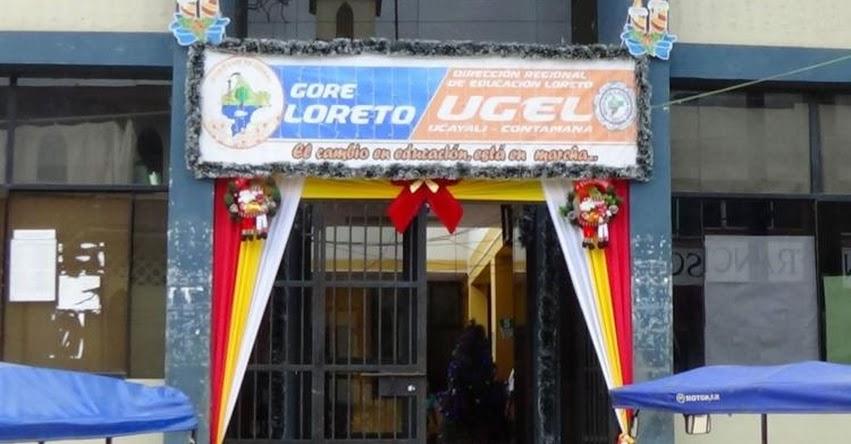 Contraloría denuncia perjuicio económico por más de 2 millones en la UGEL Ucayali - Contamana, Loreto