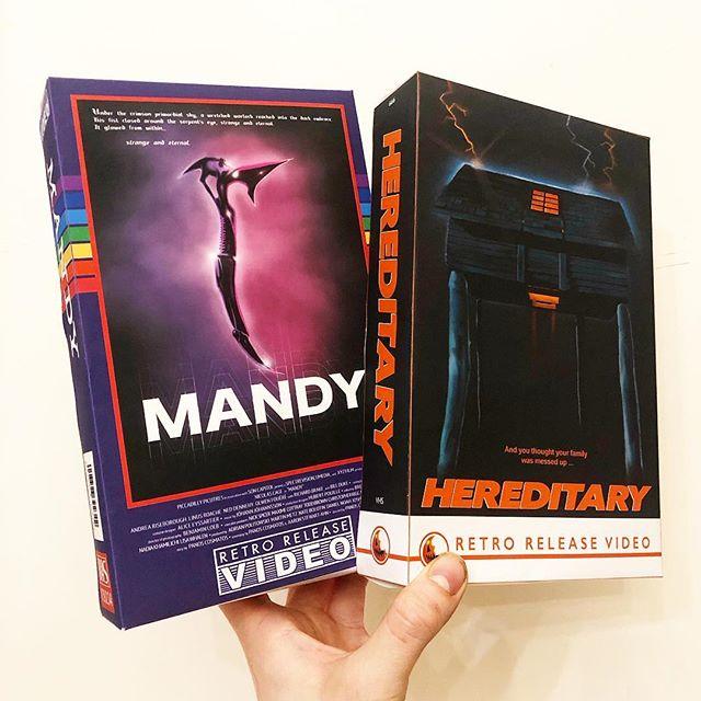 Los VHS de Retro Release Video