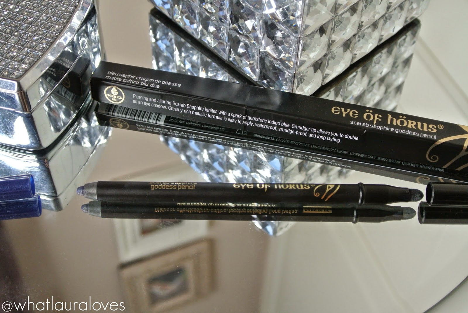 Eye of Horus Scarab Sapphire Goddess Pencil Review Indigo Eye Pencil