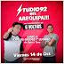 Studio 92 con Carlos Galdós en Arequipa - 14 de octubre