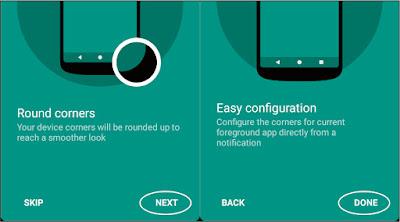Cara Membuat Layar Smartphone Round Corner Seperti Samsung Galaxy S8