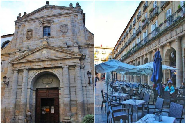 Iglesia de los Santos Juanes – Plaza Nueva en el Casco Viejo de Bilbao