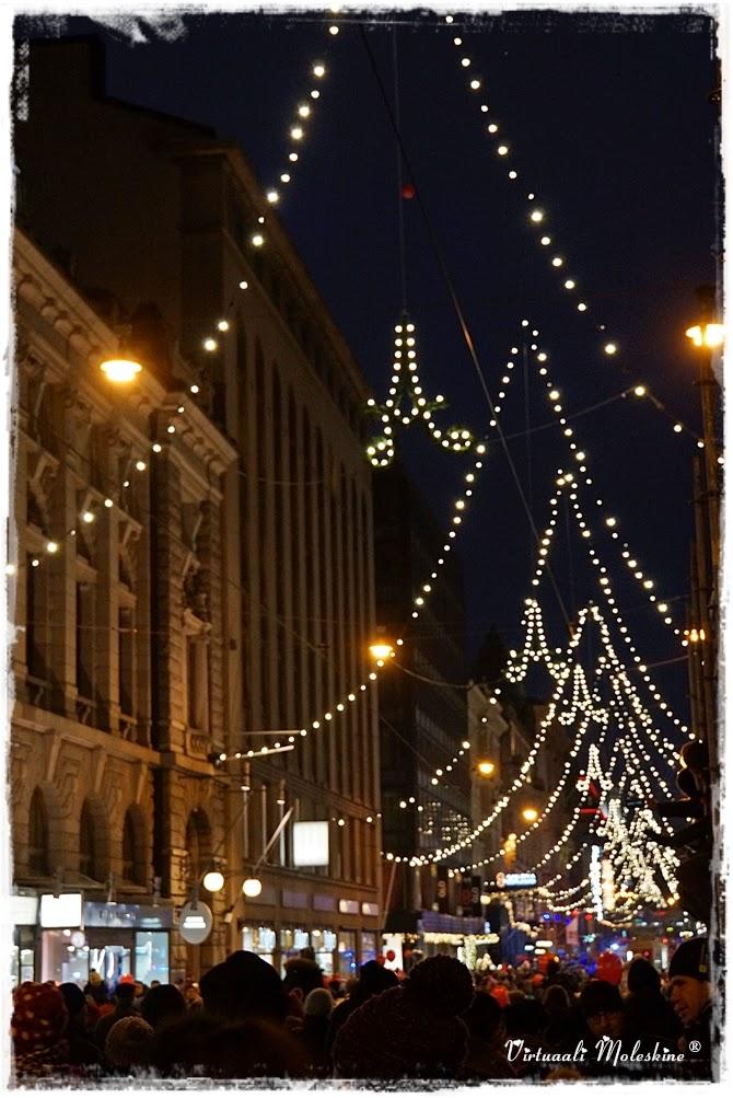 aleksin joulukatu, joulu, christmas street in helsinki