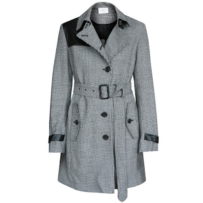 akris punto trench coat jacket