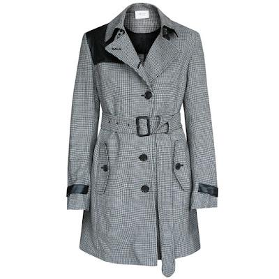 akris punto trench coat jacket
