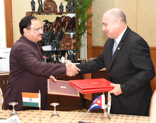 India and Cuba Join Hands For Cooperation in the Health Sector