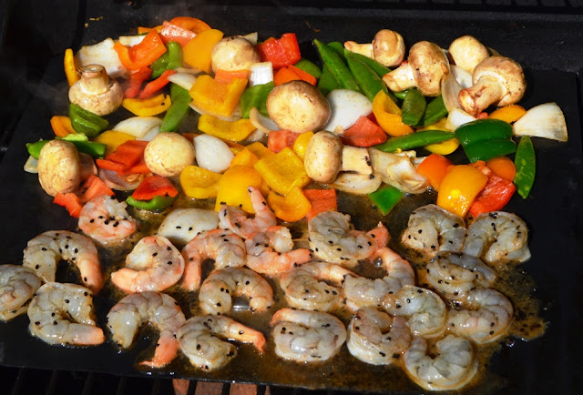 how to make grilled vegetables in otg