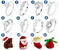 Logo Vinci Gratis un paio di orecchini e un anello in argento 925 Gioielli Eshop