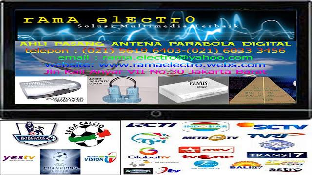 TUKANG SETTING / SERVICE ANTENA PARABOLA