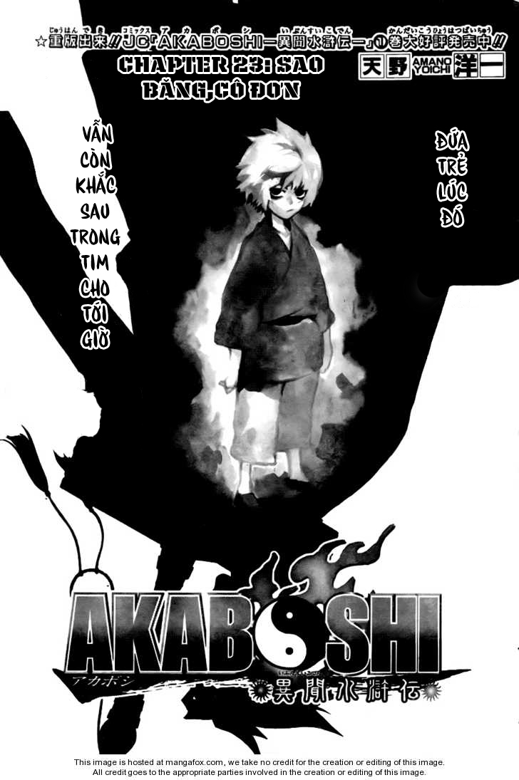 Akaboshi Chap 23 . Next Chap 24