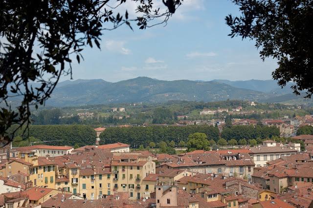 miasto Lukka, Toskania, Włochy