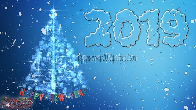 New year 2019 Greetings HD