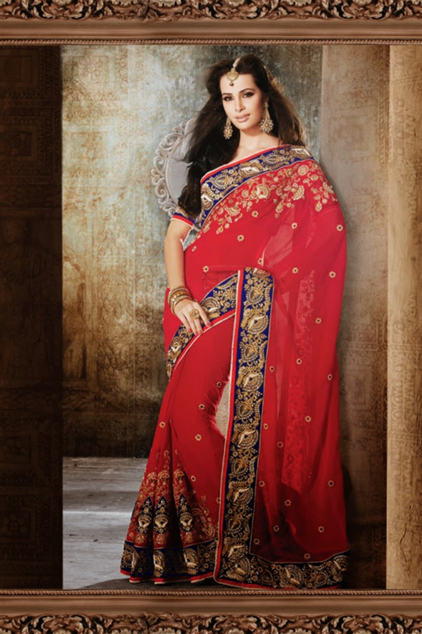 Albarino Net Traditional Indian Wedding Sarees