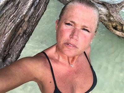 Xuxa hace un mes
