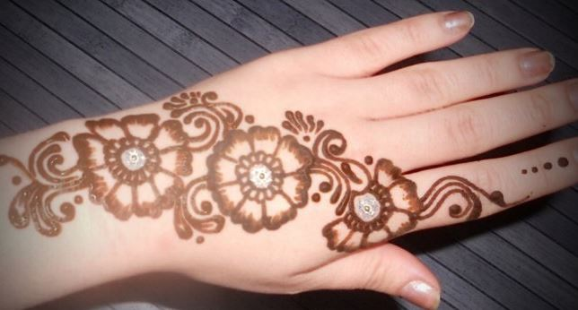 Mehndi Patterns What Are They : Simple mehndi designs step by beauty health & fashion