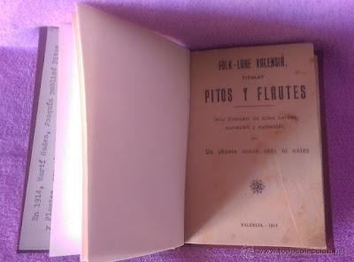 Pitos y flautes , Joaquín Martí Gadea