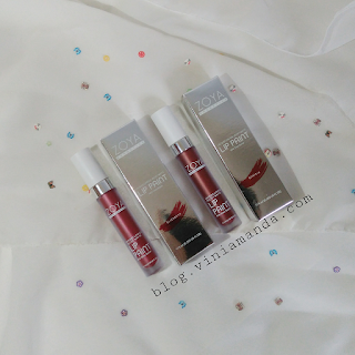 Zoya Cosmetics Lip Paint Elizabeth dan Beatrix (Limited Edition)