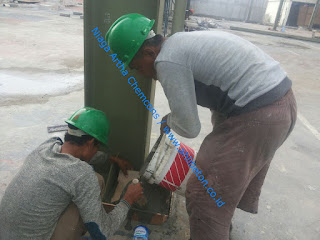 aplikasi grouting base plate