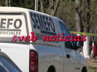 Arrojan ejecutado en campo de futbol en Las Puentes Mpio.de Coatepec.
