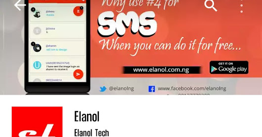 Download Elanol To Send Free SMS To All Networks