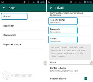 Atur Privasi WhatsApp 6