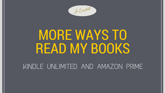 My Books: Kindle Unlimited and Amazon Prime