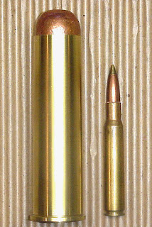 Big Bore Ammo Cartridge