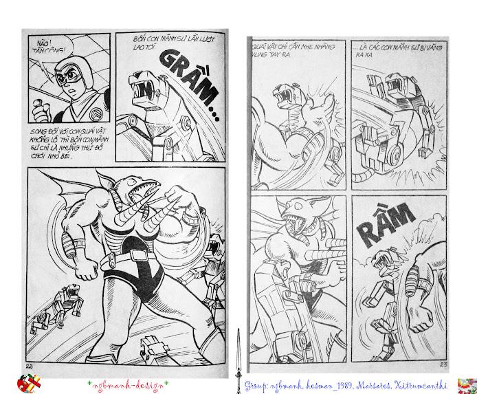 Dũng Sĩ Hesman tập 2 - hesman xuất hiện trang 12