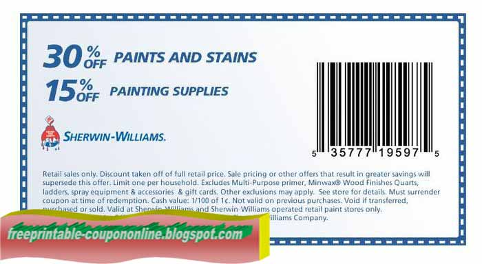 photo regarding Benjamin Moore Paint Coupons Printable referred to as Sherwin williams discount codes april 2018 : Dog lodge discount coupons petsmart