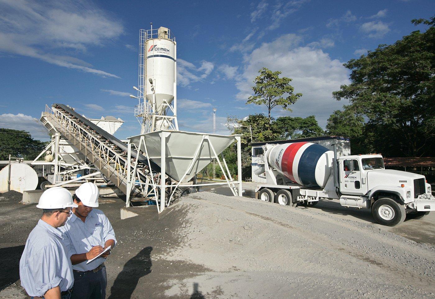Control de calidad de concreto en obra planta de concreto for Empresas de pavimentos de hormigon