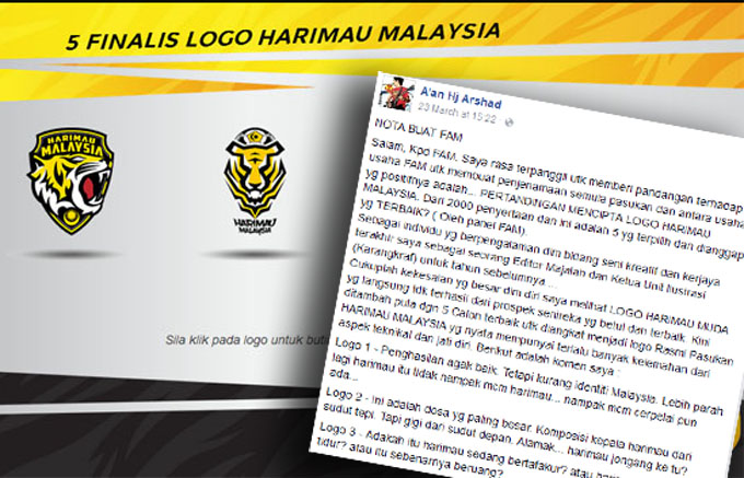 Nota AM Buat FAM - Khusus Tentang Logo Harimau Malaysia